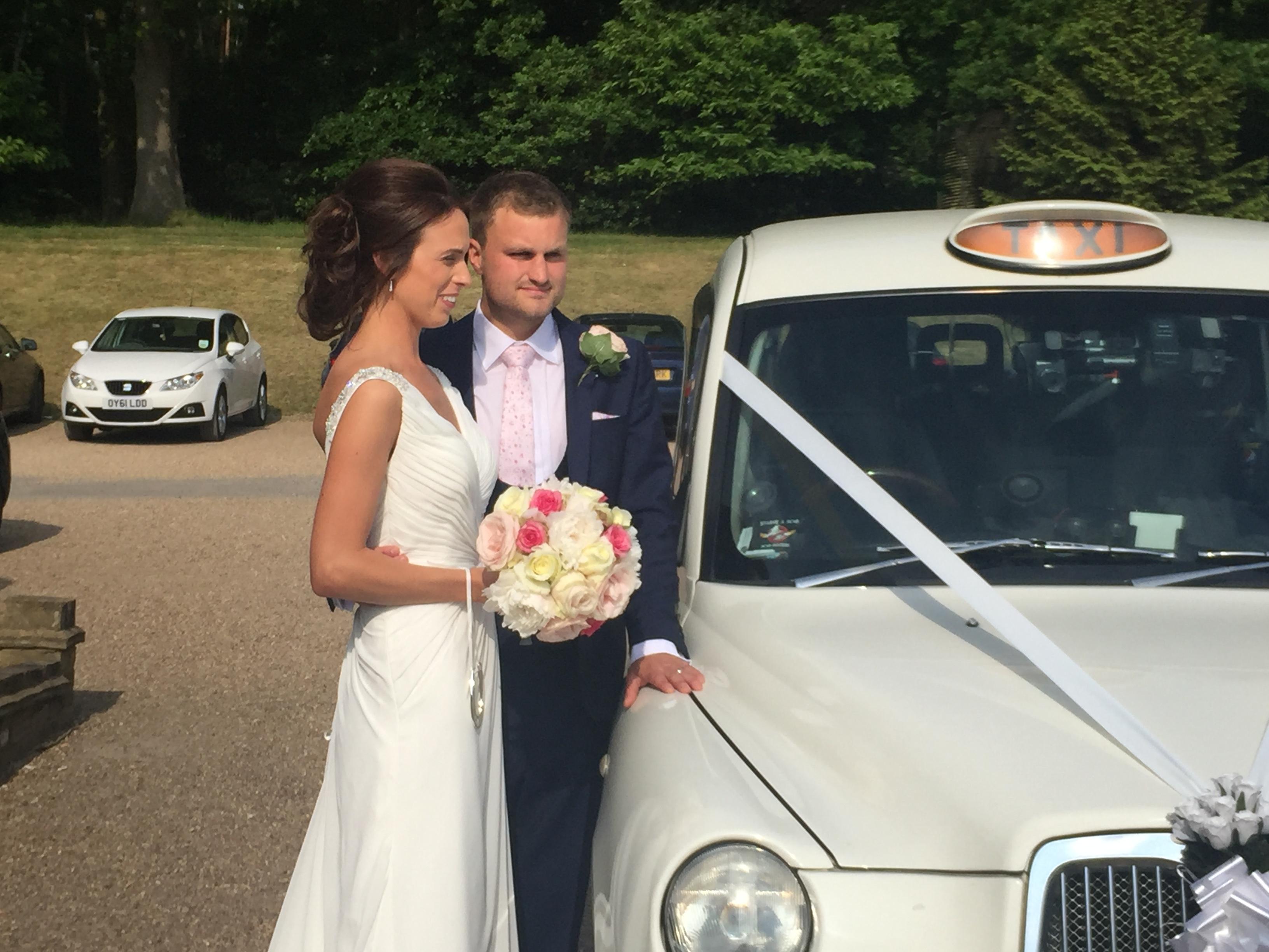 London taxis wedding